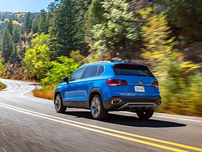 performance 2022 Volkswagen Taos